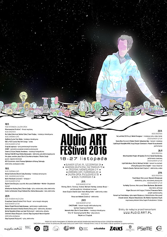 Audio Art Festival 2016